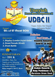 UNSYIAH DRUM BAND COMPETITION (UDBC) II 2016