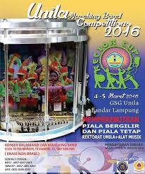 UNILA Marching Band Competitions 2016